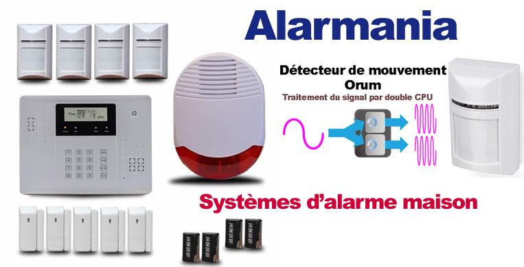 Alarmania, spécialiste de l'alarme maison